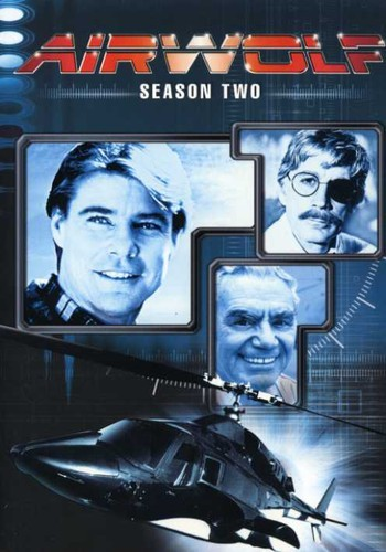 AIRWOLF-SEASON-TWO-5-DISCS-NEW-DVD