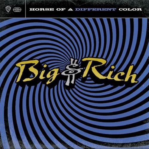 BIG-RICH-HORSE-OF-A-DIFFERENT-COLOR-NEW-CD