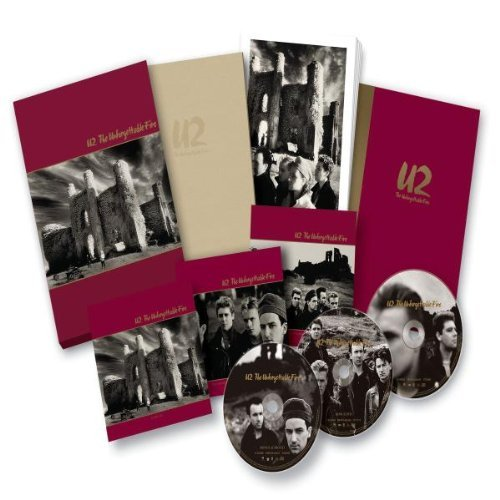 U2-UNFORGETTABLE-FIRE-W-BOOK-DVD-LTD-NEW-CD