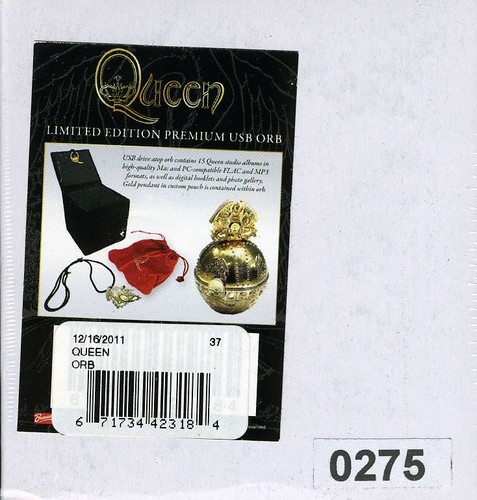 QUEEN-ORB-USB-BOX-NEW-NA