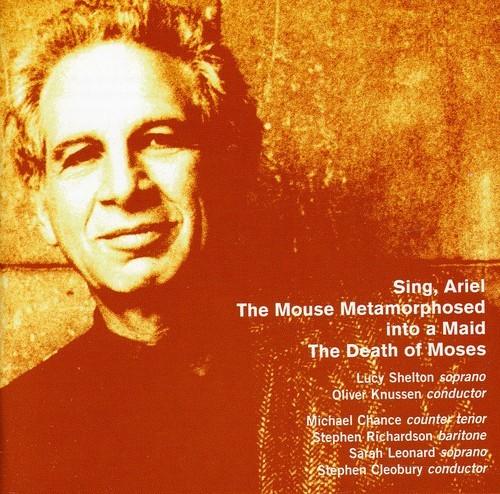 GOEHR-SHELTON-LEONARD-HULSE-CLEOBURY-SING-ARIEL-MOUSE-NEW-CD