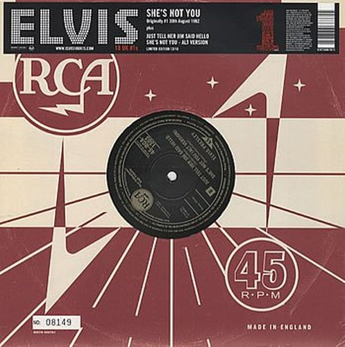ELVIS-PRESLEY-SHES-NOT-YOU-NEW-VINYL