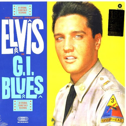 ELVIS-PRESLEY-G-I-BLUES-BONUS-TRACKS-180GM-NEW-VINYL