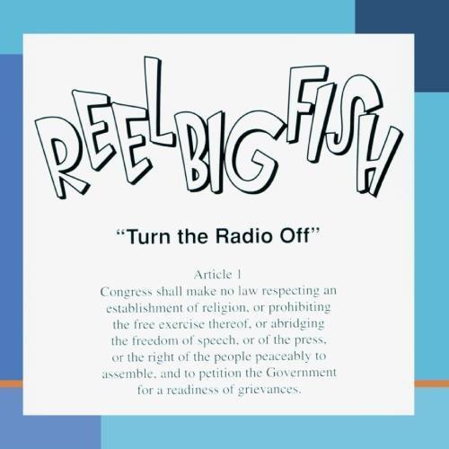 Reel big fish turn the radio off clean new cd 012414179722 for The fish radio