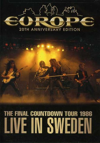 EUROPE - FINAL COUNTDOWN TOUR: LIVE IN SWEDEN 1986 NEW DVD