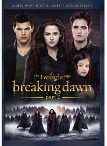 TWILIGHT SAGA: BREAKING DAWN - PART 2 (2PC) NEW DVD