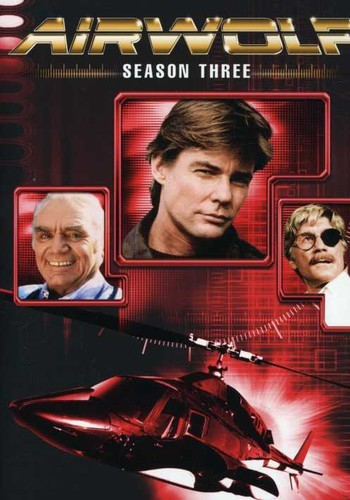 AIRWOLF: SEASON THREE [5 DISCS] NEW DVD