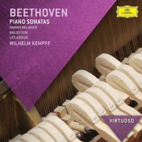BEETHOVEN / WILHELM  KEMPFF - PIANO SONATAS NEW CD