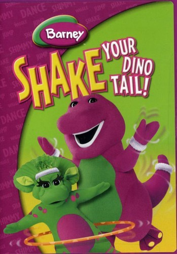 BARNEY /  - SHAKE YOUR DINO TAIL / NEW DVD