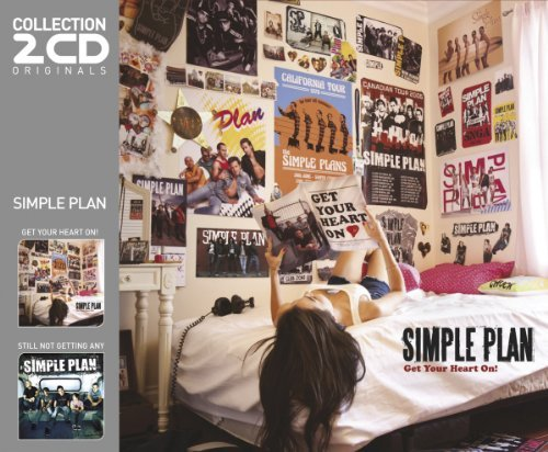 SIMPLE PLAN - GET YOUR HEART ON!/STILL NOT GETTING ANY (IMPORT) NEW CD