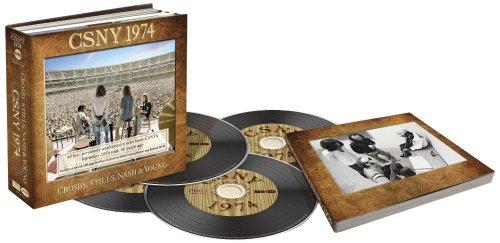 CROSBY STILLS NASH &  YOUNG - CSNY 1974 (+DVD) NEW CD
