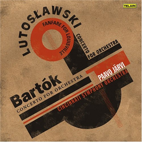 BARTOK /  LUTOSTAWSKI / CINCINNATI SYM ORCH / JARVI - CONCERTO FOR NEW CD
