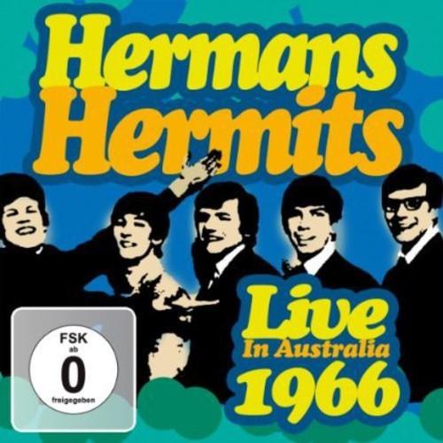 HERMANS HERMITS - LIVE IN AUSTRALIA 1966 NEW CD