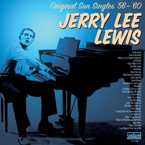 JERRY LEE LEWIS - ORIGINAL SUN SINGLES 56-60 - BONUS TRACKS NEW VINYL
