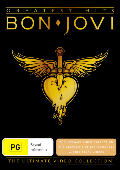 BON JOVI - GREATEST HITS: THE ULTIMATE COLLECTION DVD NEW DVD