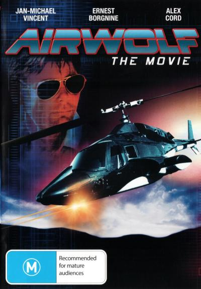 AIRWOLF: THE MOVIE (1984) NEW DVD