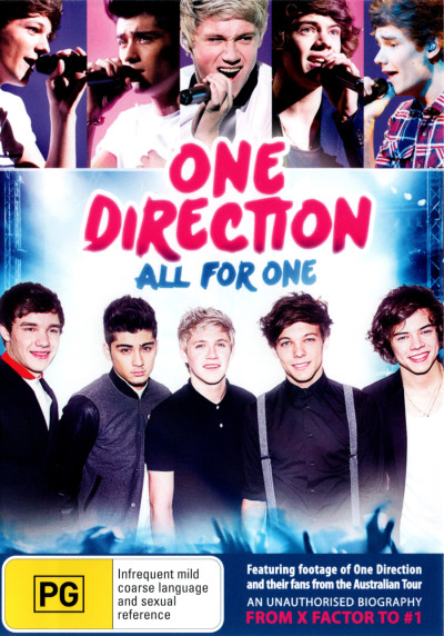 ONE DIRECTION: ALL FOR ONE (AN UNAUTHORISED BIOGRAPHY) (2012) NEW DVD