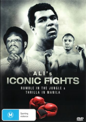 ALI: ICONIC FIGHTS NEW DVD