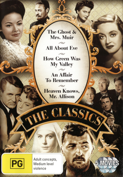 CLASSICS COLLECTION NEW DVD