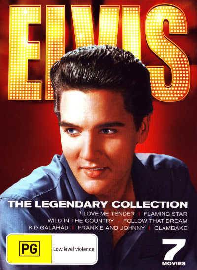 ELVIS: THE LEGENDARY COLLECTION (LOVE ME TENDER / FLAMING STAR / WILD IN THE