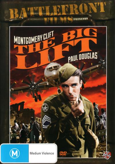 THE BIG LIFT (1950) NEW DVD