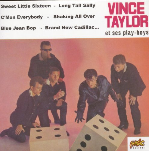 VINCE TAYLOR &  SES PLAY BOYS - EP COLLECTION NEW CD