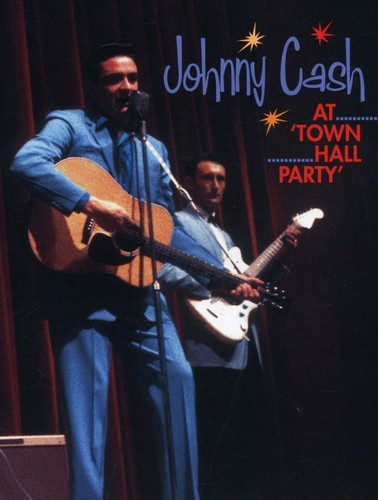JOHNNY CASH - LIVE AT TOWN HALL PARTY NEW DVD