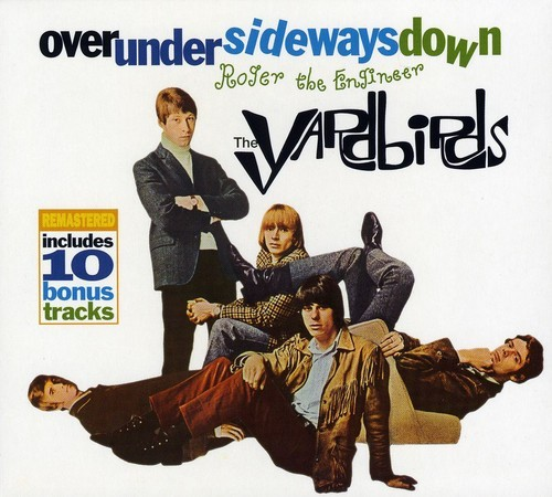 YARDBIRDS - OVERUNDERSIDWAYSDOWN (MINI LP SLEEVE) NEW CD