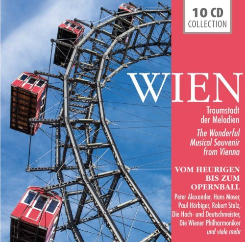 PETER ALEXANDER / HANS / HORBINGER MOSER - WIEN: TRAUMSTADT DER MELODIEN NEW CD