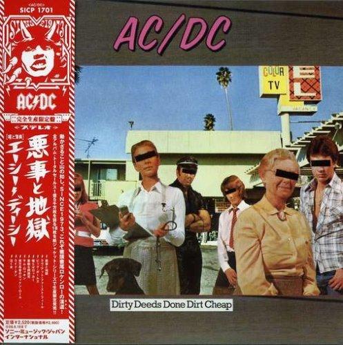 AC / DC - DIRTY DEEDS DONE DIRT CHEAP (IMPORT) (MINI LP SLEEVE) NEW CD