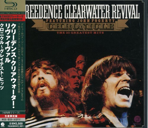 CREEDENCE CLEARWATER REVIVAL - CHRONICLE: 20 GREATEST HITS (IMPORT) NEW CD