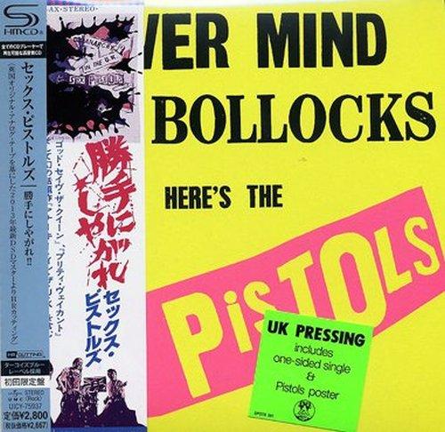 SEX PISTOLS - NEVER MIND THE BOLLOCKS (IMPORT) (LTD) NEW CD