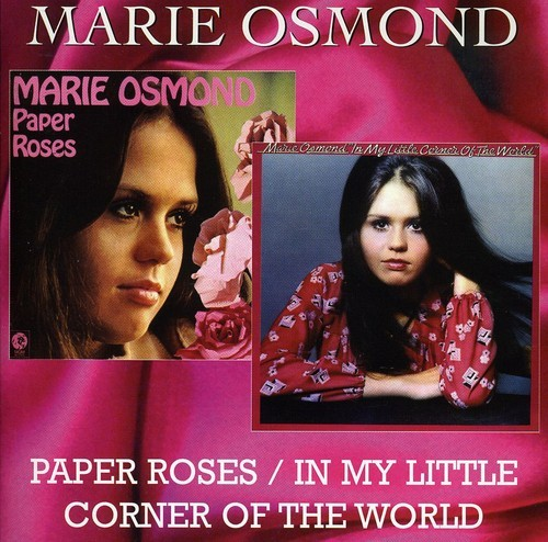 Literary News From All Corners Of The World: Marie Osmond Paper Roses IN MY Little Corner OF THE World