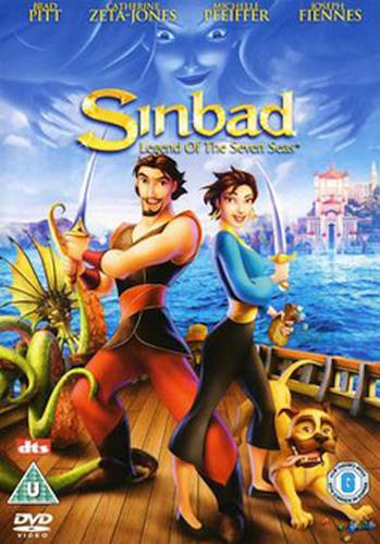 SINBAD - LEGEND OF THE SEVEN SEAS (UK) NEW DVD