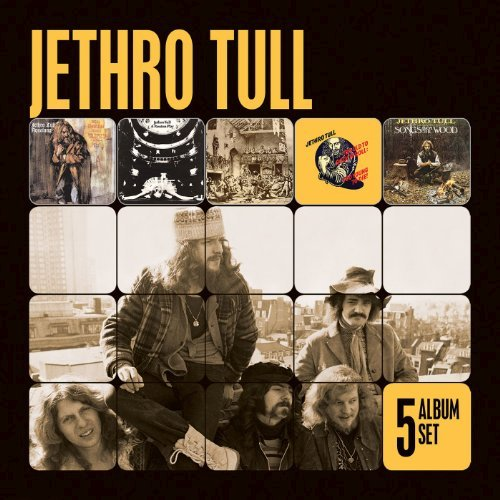 JETHRO TULL - 5 ALBUM SET NEW CD