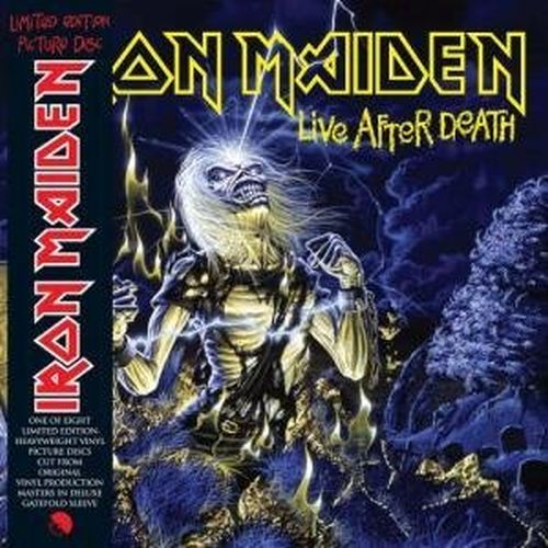 IRON MAIDEN - LIVE AFTER DEATH (PICTURE DISC) NEW VINYL