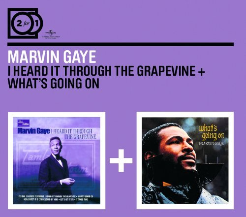 MARVIN GAYE - I HEARD IT THROUGH THE GRAPEVINE/WHAT'S GOING ON NEW CD