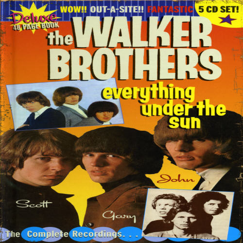WALKER BROTHERS - EVERYTHING UNDER THE SUN NEW CD