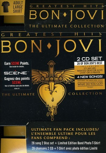 BON JOVI - GREATEST HITS ULTIMATE FAN PACK (IMPORT) NEW CD