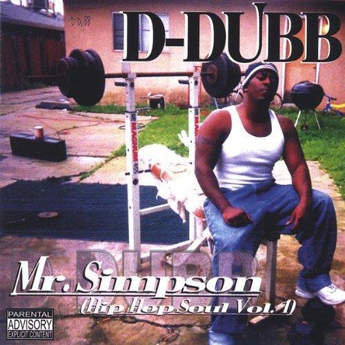 D -DUBB - MR SIMPSON: HIP HOP SOUL 1 NEW CD