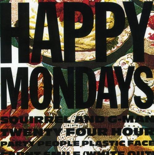 HAPPY MONDAYS - SQUIRREL &  G - SQUIRREL & G-MAN 24 HOUR PARTY NEW CD