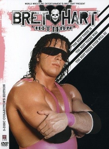 BRET THE HITMAN HART: BEST THERE IS BEST THERE WAS NEW DVD