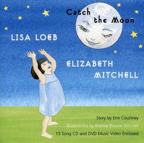 LISA LOEB & ELIZABETH  MITCHELL - CATCH THE MOON (+DVD) NEW CD