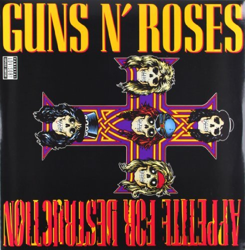 GUNS N ROSES - APPETITE FOR DESTRUCTION (REISSUE) (180GM) NEW VINYL