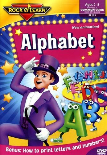 Amazon.com: Alphabet DVD by Rock 'N Learn: Brad Caudle ...