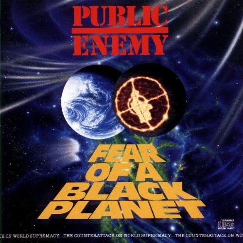 PUBLIC ENEMY - FEAR OF A BLACK PLANET NEW CD