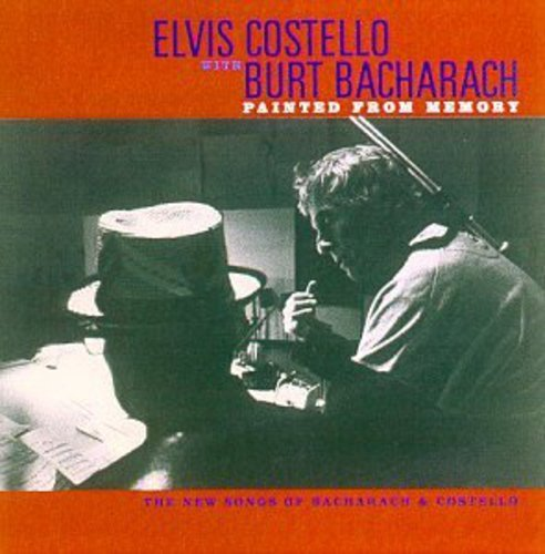 ELVIS COSTELLO / BURT  BACHARACH - PAINTED FROM MEMORY NEW CD