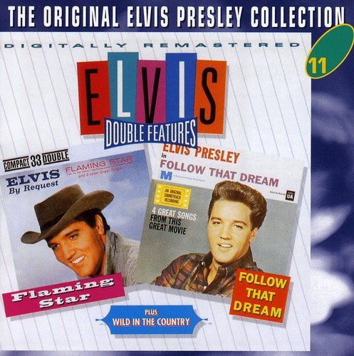 ELVIS - FLAMING STAR PRESLEY /  WILD IN THE COUNTRY - FLAMING STAR / WILD NEW CD