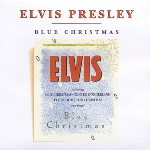 ELVIS PRESLEY - BLUE CHRISTMAS NEW CD