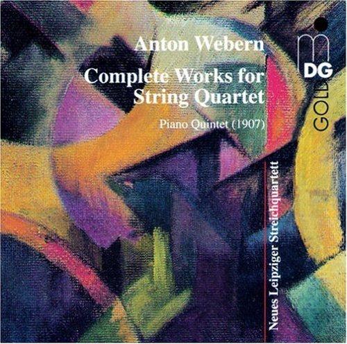 WEBERN /  NEUES LEIPZIG QUARTET - COMPLETE WORKS FOR STRING QUARTET NEW CD